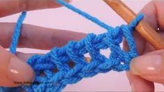 Tunisian Crochet Purl Stitch - YouTube