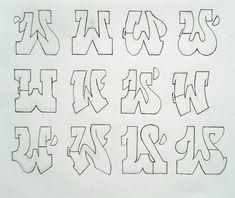 2 Healthful Breakfast Recipes For Fat Reduction: Delectable Sha Bang Eggs And Do-it-yourself Muesli - My Website Grafitti Alphabet, Graffiti Alphabet Styles, Graffiti Lettering Alphabet, Graffiti Styles, Hand Lettering, Alphabet Fonts, Graffiti Sketch, Graffiti Designs, Cartoon Graffiti