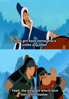 """She and her friends take part in the occasional """"your mom"""" joke. 