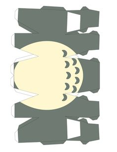 Papercraft Templates | Varietats: Totoro Papercraft Template