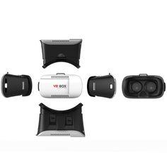 Google Virtual Reality 3D VR BOX V2.0 Glasses Headset + Bluetooth Remote #VRBOX