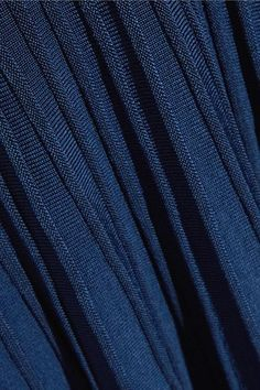 Jason Wu - Off-the-shoulder Ribbed Stretch-knit Dress - Storm blue -