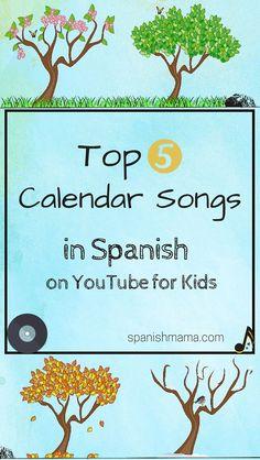 Our favorite calendar songs. Learn los días de la semana, los meses del año, las estaciones, y ¿Qué tiempo hace?