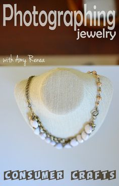 How to photograph jewelry and other small items