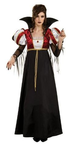 Women's Royal Vampire Halloween Costume Gown « Clothing Impulse