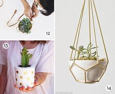 Here are 20 #DIY planter ideas to get you through the summer.