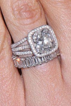 Giuliana (Bill) Rancic Engagement Ring Set