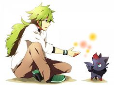 Tags: Anime, Pokémon, Pixiv, Zorua, N (Pokémon)