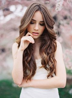 Haircuts for long hair, cute curly hairstyles, curls for long hair, wedding hairstyles Party Hairstyles For Long Hair, Cute Curly Hairstyles, Haircuts For Long Hair, Elegant Hairstyles, Formal Hairstyles, Down Hairstyles, Curly Hair Styles, Model Hairstyles, Hairstyles 2018