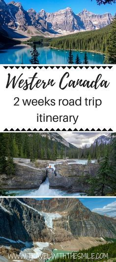Are you planning a road trip through the Canadian Rockies and don't know where to start? Our detailed suggested itinerary includes all the incredible places you can visit, budget & road trip tips. Things to do in Canadian Rockies   Hiking in Canada   Canadian Rockies   Canada road trip   Banff National Park   Jasper National Park   Yoho National Park   Calgary to Vancouver   #canada #canadianrockies #banff #hiking #neverstopexploring