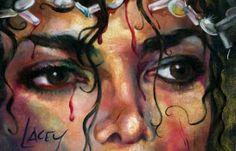 una pintura de sus ojos