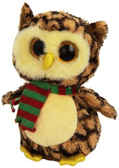 a11071fd78a Amazon.com  Ty Beanie Baby-ty36173-plush-beanie Boo  S-small-wise Owl  Toys    Games