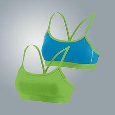 Augusta Sportswear Girls Encore Reversible Sports Bra 2416