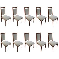 Jacaranda Dining chairs in grey velvet