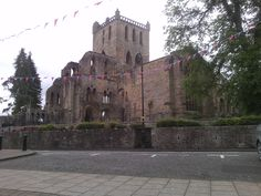 Abbey at Jedburgh Campervan, Barcelona Cathedral, Vw, Camping, Building, Places, Pictures, Travel, Campsite