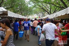 The Salcedo Weekend Market. Weekend Markets in Manila are popular with the expats and the more loaded locals because of the variety and quality of food on display. There are a lot of weekend markets currently active, but the Salcedo Market is the one where all other weekend markets are measured by. Originally an organic produce market, it has morphed into a popular saturday haunt. From Paella to Baclava, Kare-Kare to Nasi Goreng, Bratwurst to Lechon Baka, this market is so worth your time.