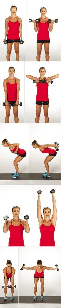 Arm sculpting exercises.