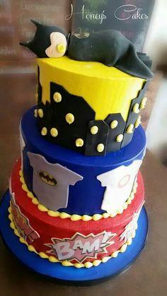 superhero baby shower cake cakes cupcakes pinterest