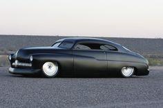 1949 Black Custom Mercury