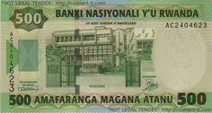 Rwanda Franc   Collect-It.com : View Banknote - Rwanda 500 Franc 2004