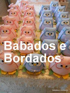 Babados & Bordados: Festa Corujinhas  !