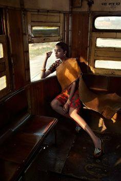 Colston Julian for Harper's Bazaar India, January 2014