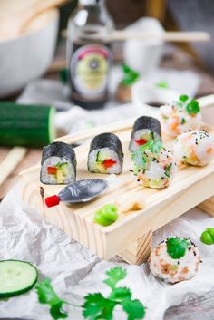Sushi selbstgemacht