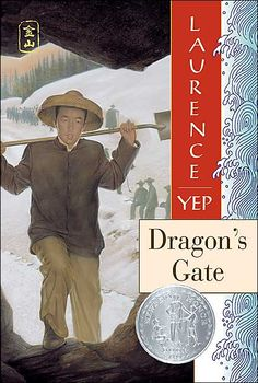 Laurance Yep, Dragon's Gate - we recently finished this book together