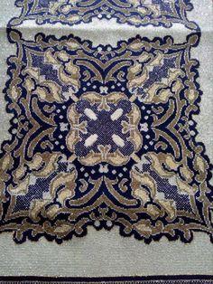 Gallery.ru / Фото #67 - ιουλιος - ergoxeiro Cross Stitch Charts, Cross Stitch Embroidery, Cross Stitch Patterns, Square Patterns, Embroidery Techniques, Beads, Table Clothes, Zoom Zoom, Ph