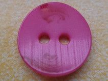10 kleine pinke Knöpfe 12mm (6559-11x) Knopf pink