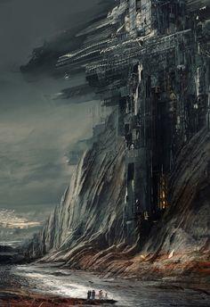ArtStation - Tectonic Dystopia , Daniel Dociu