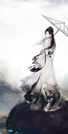 Chinese Art Girl Anime New Ideas Beautiful Fantasy Art, Beautiful Anime Girl, Japanese Drawings, Japanese Art, Anime Art Girl, Manga Art, Pandaren Monk, Geisha Art, Image Manga