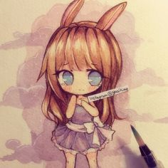 Playing with watercolours ( ´ ▽ ` )ノ