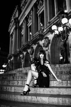 Paris Nights – Taking to the streets of Paris at night, Sigurd Grunberger captures model Zuzanna Stankiewicz in a mix of menswear inspired and ultra-feminine… Night Photography, White Photography, Fashion Photography, Photography Basics, Scenic Photography, Aerial Photography, Landscape Photography, Night Portrait, Photo Portrait