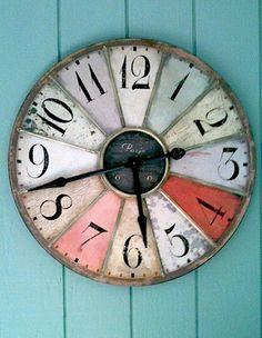 Gaming Wheel Clock