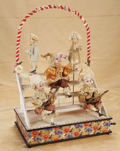 German handwind musical toy   theriaults auction