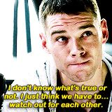 """ sense8weekend; character quotes • Will Gorski All right, you know what? I don't give a shit anyway."""