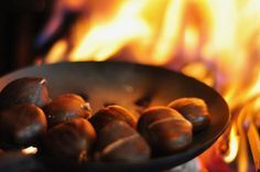 How to Roast Chestnuts On an Open Fire   Multi Cultural Cooking Network