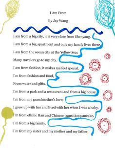 I am from poem - Jay Wang