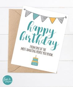 Pin by heyar padron on funny birthday cards pinterest birthday funny birthday card boyfriend birthday friend birthday funny card happy birthday from one of the most amazing people you know bookmarktalkfo Images