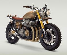 You can't buy either of these, but Classified Moto might let you commission your own. The dudes behind this custom bike company collaborated with the dudes behind The Walking Dead to construct a pair of identical motorcycles the show needed to replace Da