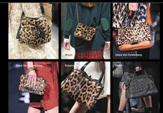 Leopard handbags fall 2014