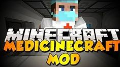 MedicineCraft Mod adds hospitals into Minecraft! This mod adds surgeon gear as well as syringes, medicine crafting tables, and medicine that gives potion
