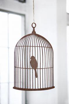 bird cage - wood
