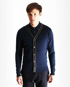 Fab details on this stylish cardigan.