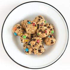 Monster Cookie No-Bake Oatmeal Energy Balls
