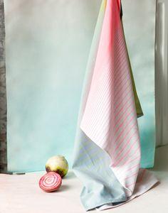 Tea Towel HAY Gradient 2 pcs - HAY - styling Stylecookie