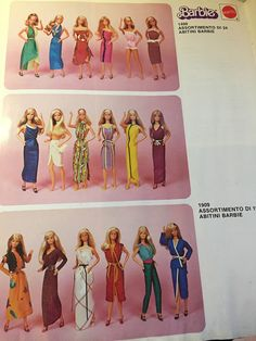1980s Barbie, Mattel Barbie, Barbie And Ken, Barbie Paper Dolls, Barbie Family, Vintage Barbie Clothes, Doll Dress Patterns, Barbie Dream, Barbie Collector