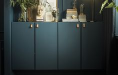 Top picks for Solid Wood Furniture from IKEA; plus how durable is Ikea furniture, how to make it last and which pieces are worth the investment. Ikea Ivar Cabinet, Tall Cabinet Storage, Wall Storage, Ivar Regal, New Swedish Design, Ikea Furniture, Green Furniture, Dream Decor, Interior Inspiration