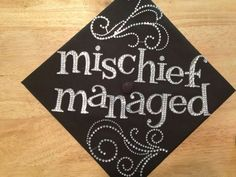 harry potter graduation cap | My graduation cap! 2013
